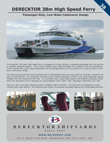 DERECKTOR 38m High Speed Ferry