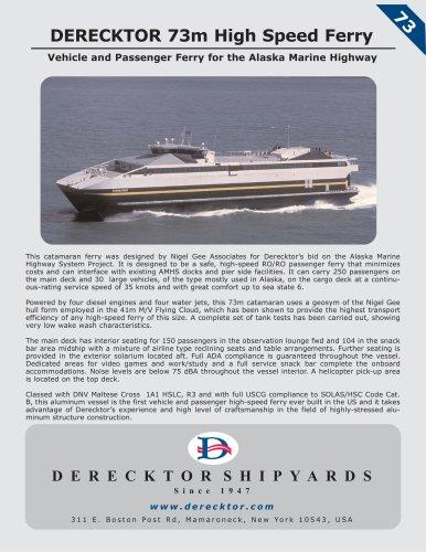 DERECKTOR 73m High Speed Ferry