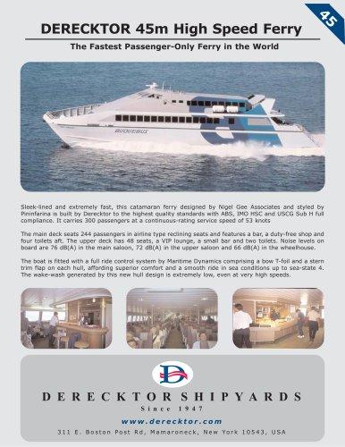 ferries 45m