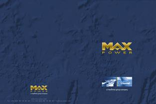 Max power catalogue