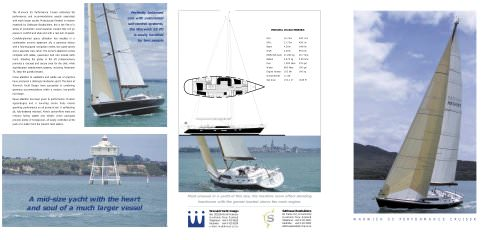 W55 PERFORMANCE CRUISING SLOOP