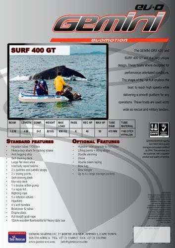 surf 400 gt