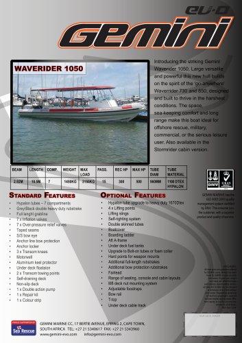waverider 1050