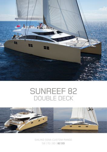 SUNREEF 82 DOUBLE DECK
