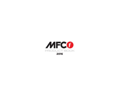 MFC PRODUCT BOOK SUP
