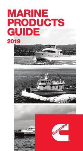 MARINE PRODUCTS GUIDE