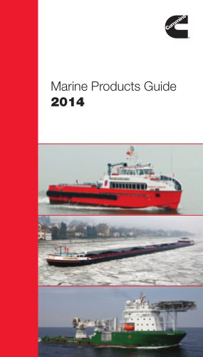Marine Products Guide 2014