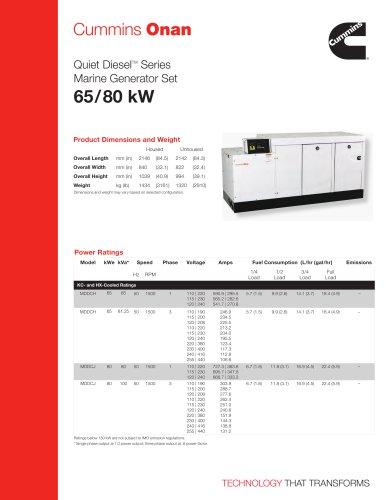 MDDCH/J 65/80 kW