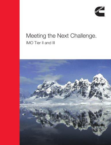 Meeting the Next Challenge. IMO Tier II and III