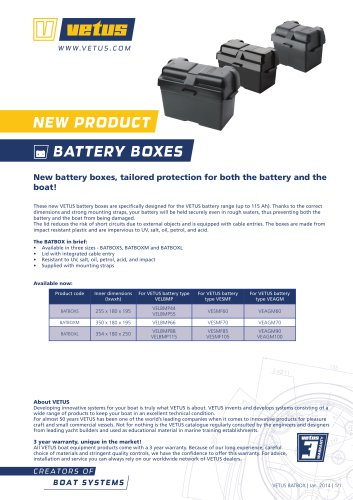 battery boxes
