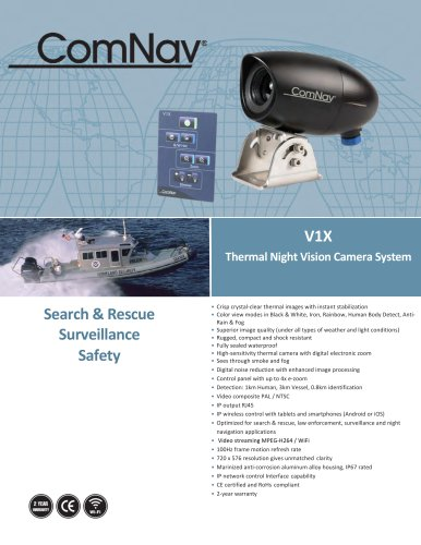 ComNav V1X Thermal Night Vision Camera System