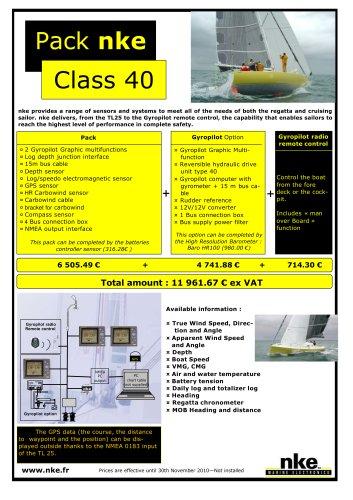 Pack nke - Class 40