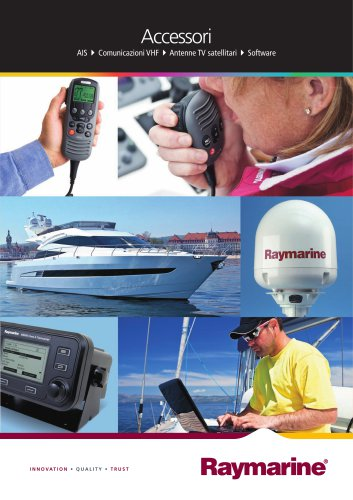 Accessories - AIS/VHF Communications/Satellite TV/Software