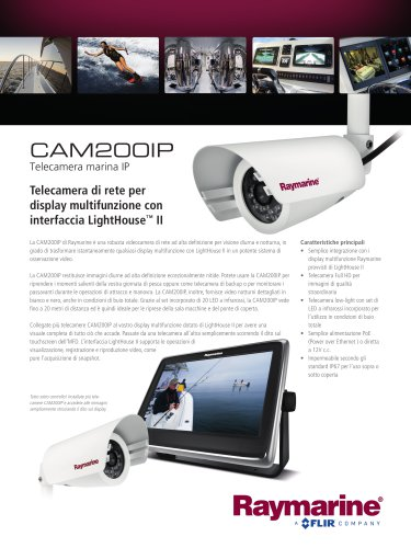 CAM200IP - Day/Night Marine IP Camera