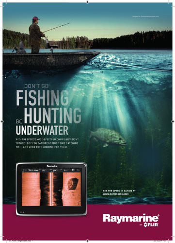 Go Hunting Underwater: CP200
