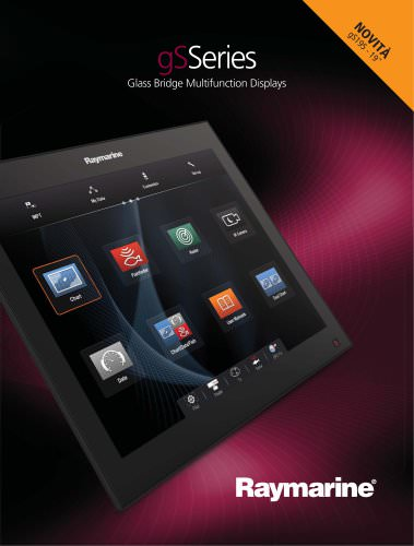 gS Series - Premier Glass Bridge Multifunction Displays