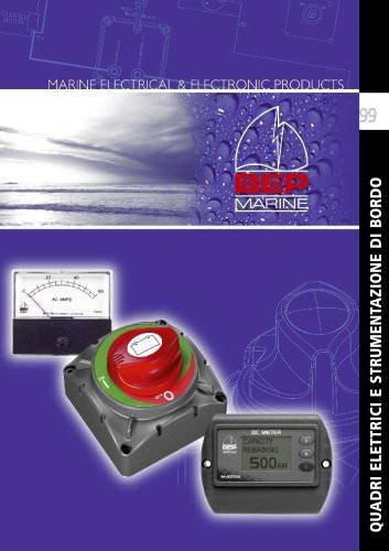 Quadri elettrici e strumentazione di bordo