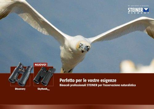 Catalogo STEINER l'osservazione naturalistica 2010