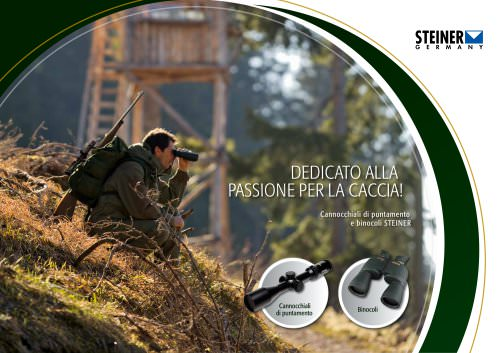 NEW: STEINER Hunting Catalogue 2013