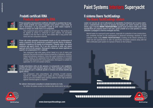 Paint Systems Interiors Superyacht