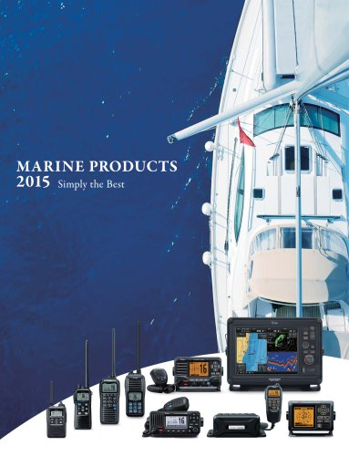 MARINE PRODUCTS 2015