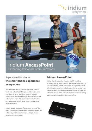 Iridium AxcessPoint Brochure