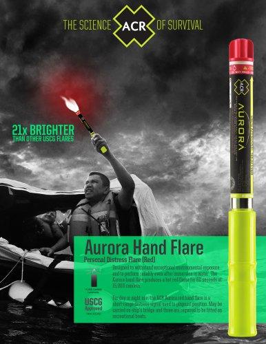 Aurora Red Hand Flare