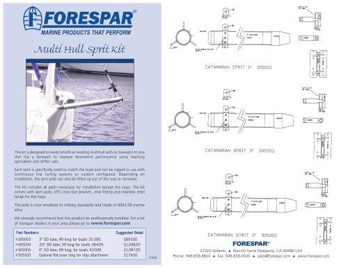 Multi Hull Sprit Kit