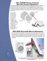 MA-9020 Gunwale-Mount Speakers