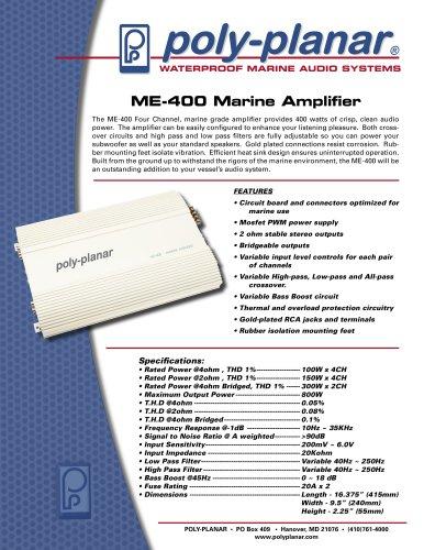 ME-400 Marine Amplifier