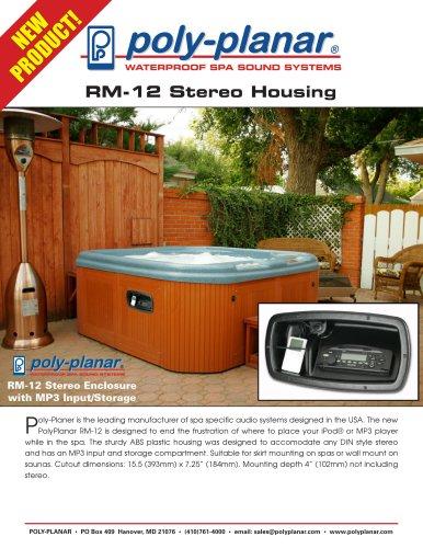 RM-12 Stereo Housing