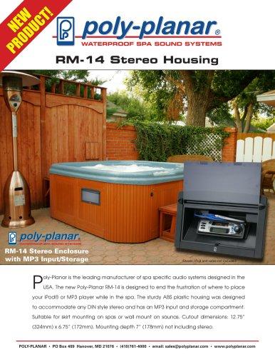 RM-14 Stereo Housing