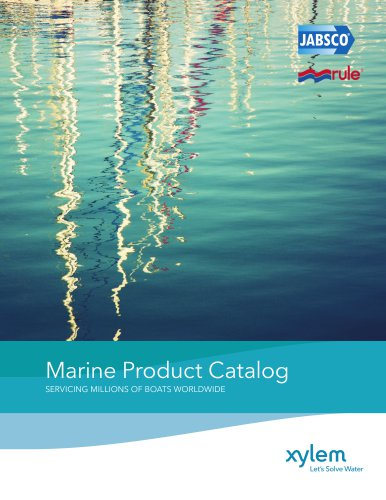 Marine Product Catalog