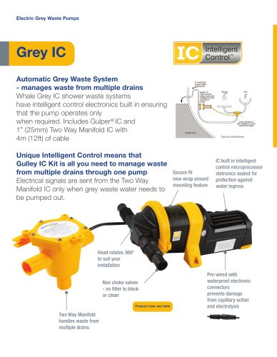 Grey IC - Complete Grey Waste System