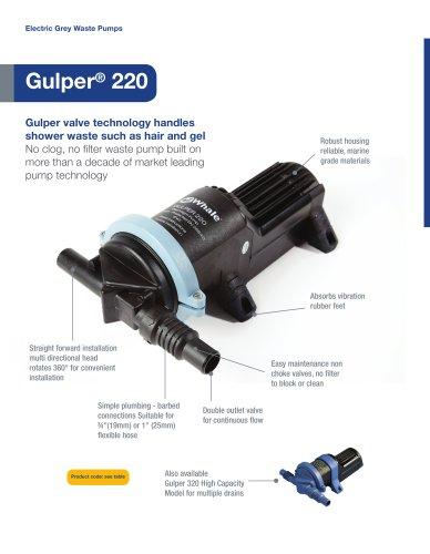 Gulper 220 - Electric Waste Pump
