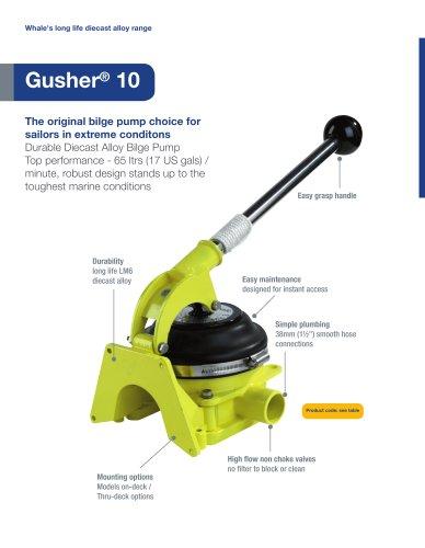 Gusher 10 Manual Bilge Pump