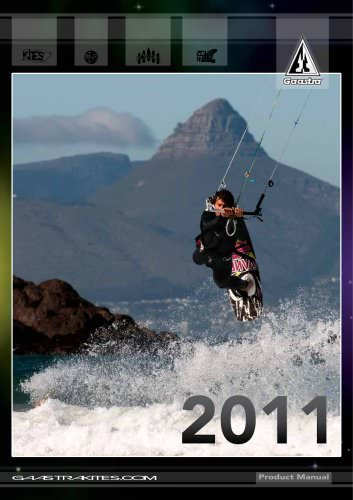 2011 Gaastra Kiteboarding Product Manual (LowRes)