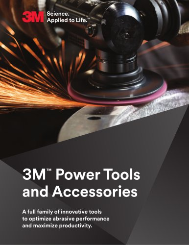 3M™  Power Tools and Accessories