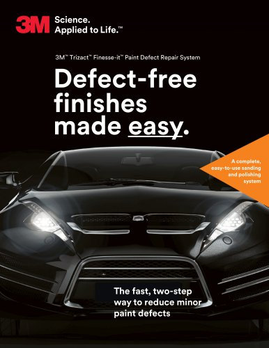 Defect-free finishes  made easy