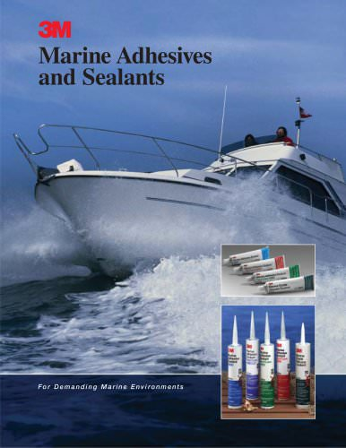 Marine Adhesives and Sealants