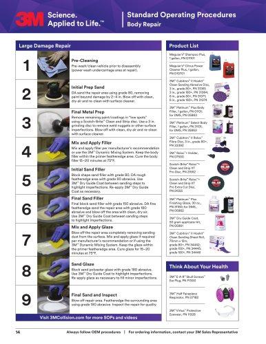 Standard Operating Procedures Body Repair