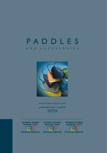 Braca Paddles Catalogue 2013