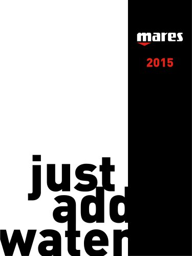 timeless design d03dd b4120 MARES CATALOGUE 2015 - Mares - Catalogo PDF | Documentazione ...