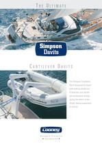 Cantilever-Davits