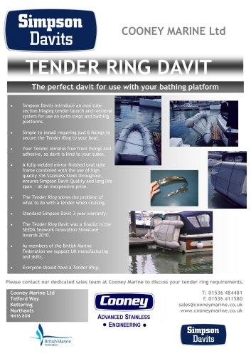Tender-Ring-Davit-