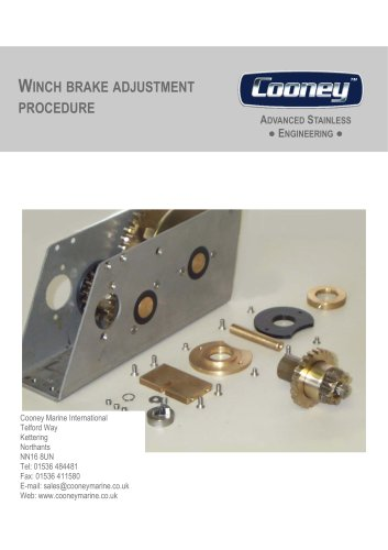 Traditional Gear Box Adjustment Guide