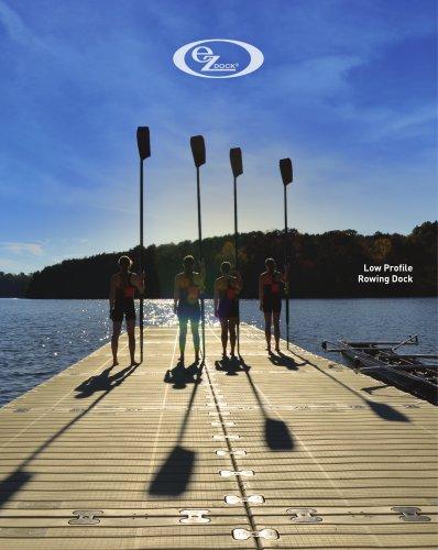 Low Profile Rowing Dock
