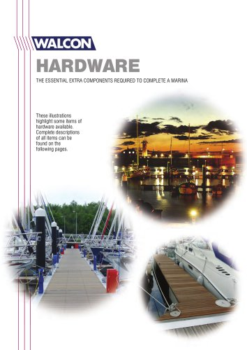 Marina Equipment and Accessories