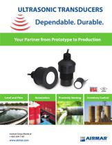 Airducer Industrial Transducer Complete 2021 Catalog