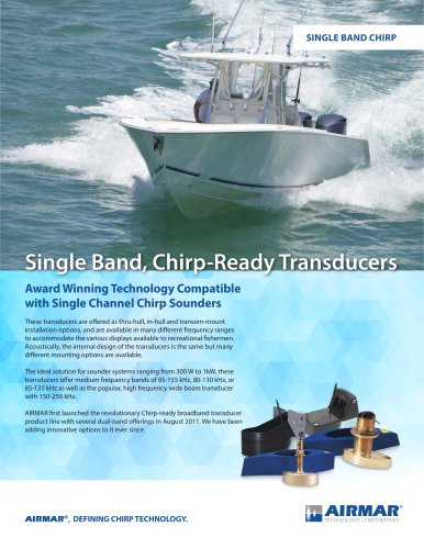 Single Band Chirp Product Compare